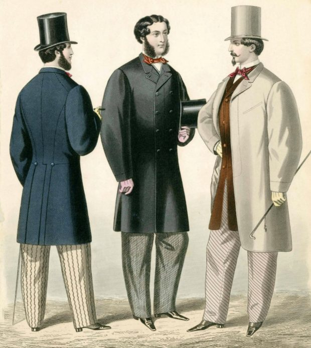 Journal des Tailleurs Gazette of Fashion 1862 menswear plate via met museum e1520885870417