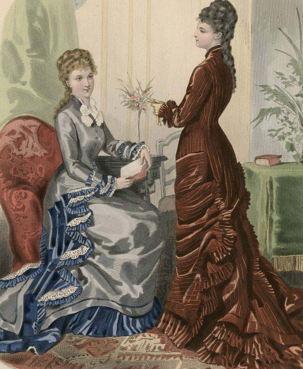 La Mode Illustre Women 1877 Plate 010 via Met Museum e1520886483719
