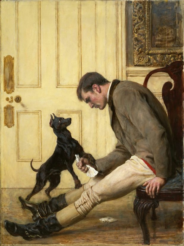 Jilted by Briton Riviere 1887 Philadelphia Museum of Art e1525651103609