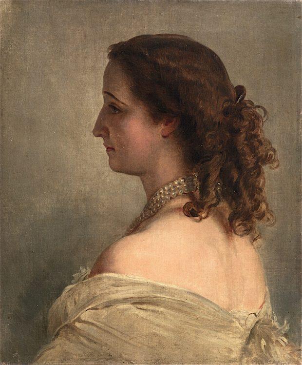 Empress Eugenie by Franz Xaver Winterhalter 1863 e1528667727455