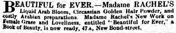 Madame Rachels Golden Hair Powder Globe 10 May 1865 e1528668193713