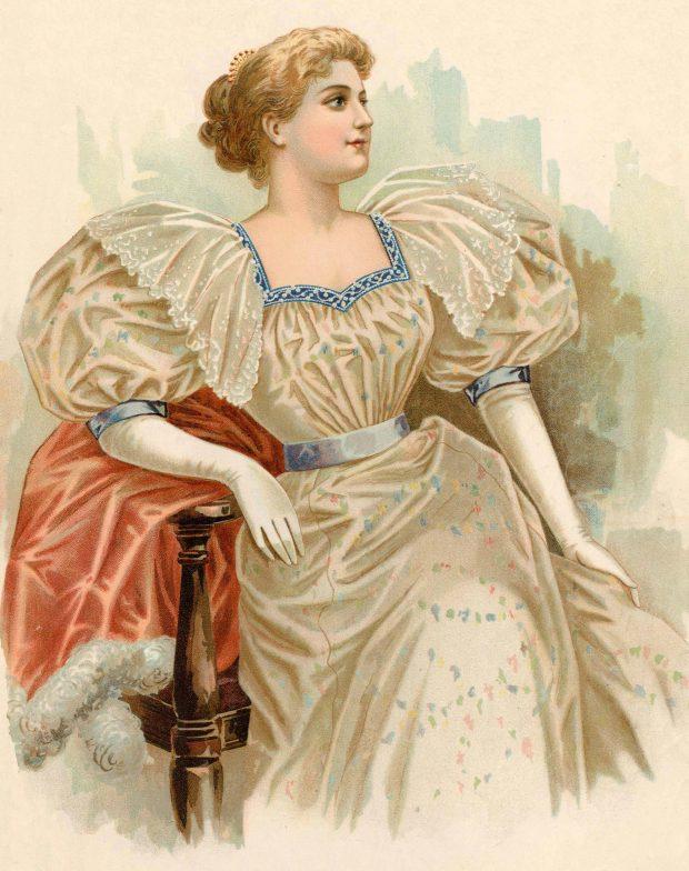 Elbow Length Gloves Standard Designer November 1896 Met Museum e1535485566520