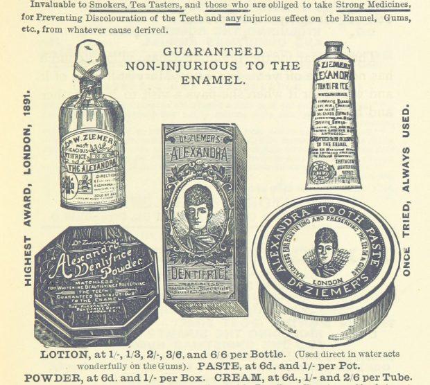 1894 Toothpowder Advert e1537122929888