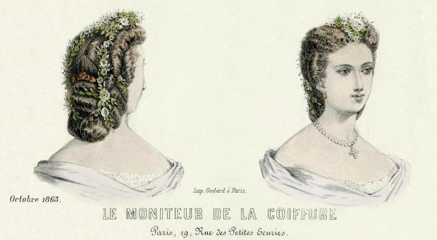 Le Moniteur de la Coiffure October 1863 Met Musem