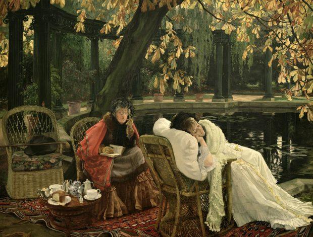 A Convalescent by James Tissot 1876 e1549397513507