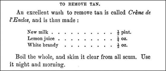 Tan Removal Recipe The Arts of Beauty 1858 e1560716611476
