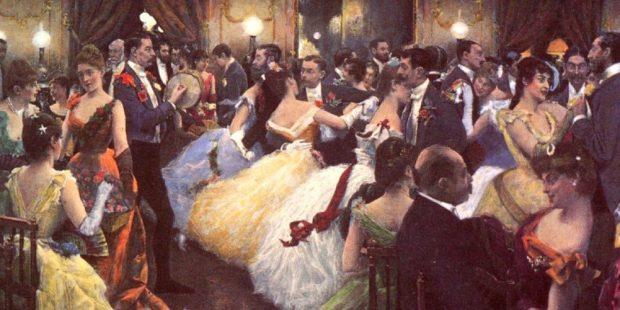 The Ball by Julius LeBlanc Stewart 1885 Featured Image e1626163254547