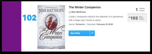 The Winter Companion USA Today Bestseller Drop Shadow 1 e1582187051643