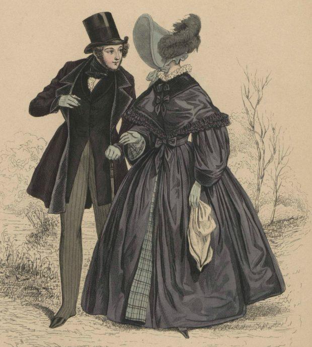 La Mode 1836 Fashion Plate via Met Museum e1599850215866