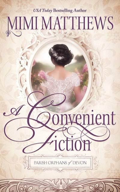 Book cover for The Convenient Fiction by Mimi Matthews