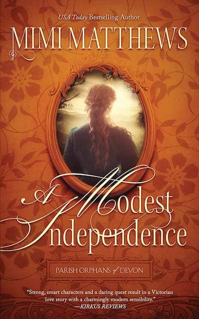 Book cover for The Modest Independence by Mimi Matthews