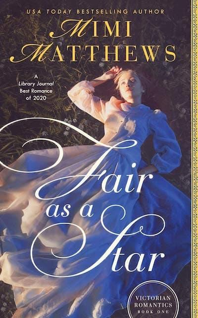 Book cover for Fair as a Star by Mimi Matthews