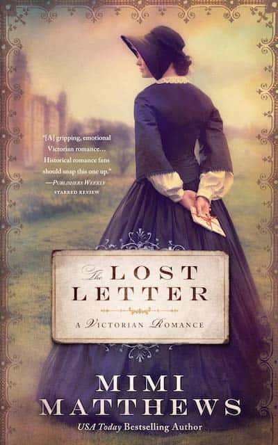 Book cover for The Lost Letter by Mimi Matthews