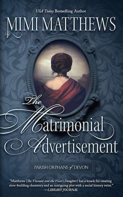 The Matrimonial Advertisement by Mimi Matthews