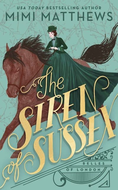 Book cover for The Siren of Sussex by Mimi Matthews