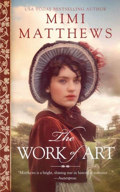 Book cover for The Work of Art by Mimi Matthews