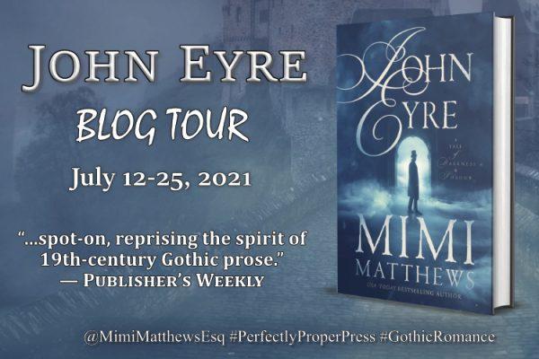 John Eyre Blog Tour Graphic