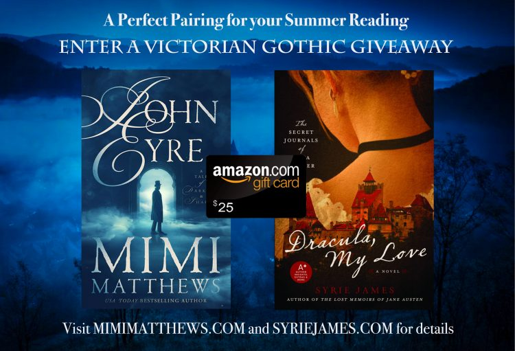 John Eyre and Dracula My Love Giveaway Graphic
