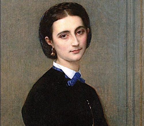 Comtesse Clermont Tonnerre nee Victoire de La Tour du Pin Chambly de la Chance by Alexandre Cabanel circa 1863 Private Collection e1630705635413